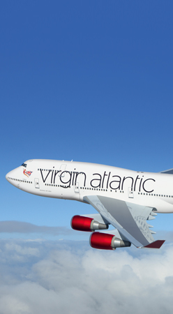 Virgin Atlantic Book fly
